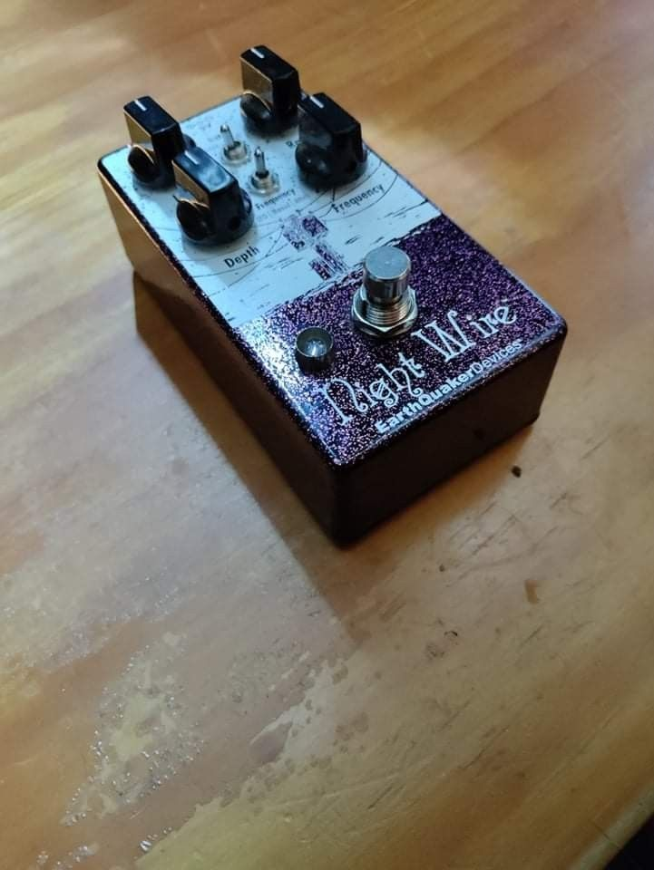 Guitar Pedals and Pedal Board