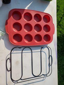 Kitchen Aid cupcake pans set of 2 Thumbnail