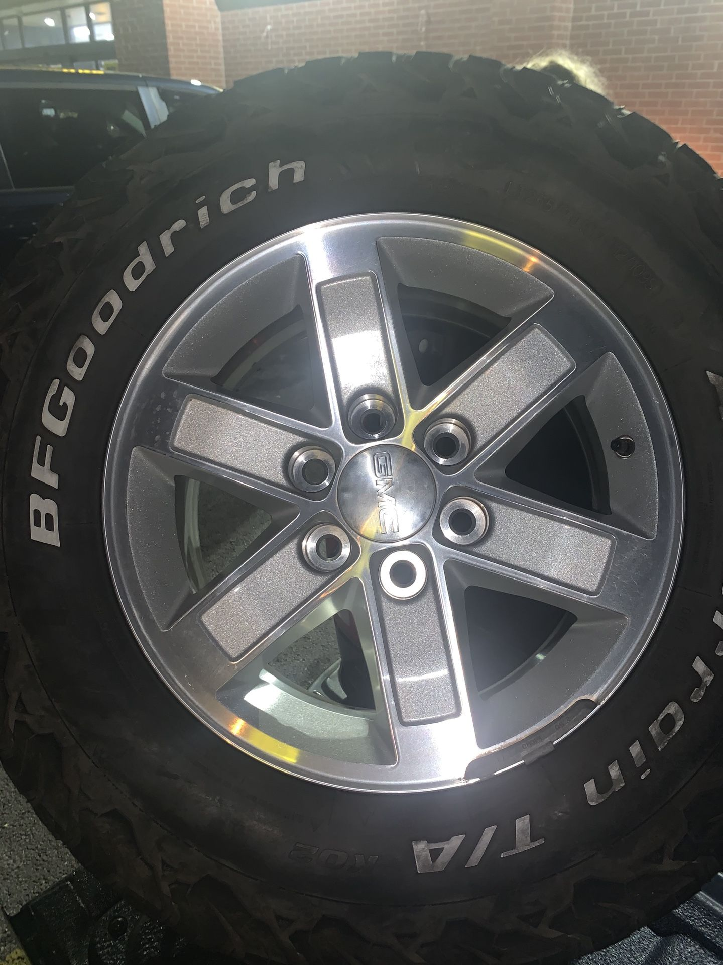 GMC rims 17 inch