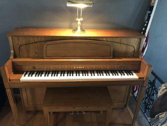 Yamaha M450 upright piano Thumbnail