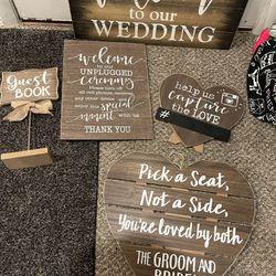 Wedding Signs Thumbnail