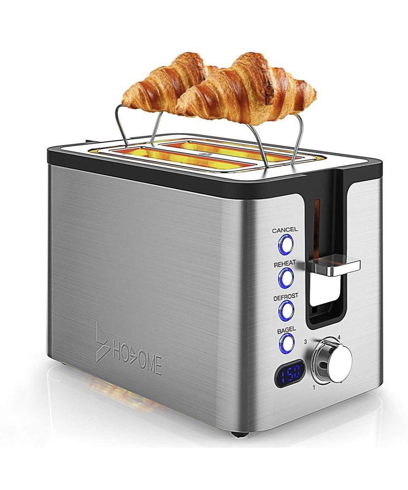 Unused Hosome Stainless Steel Toaster