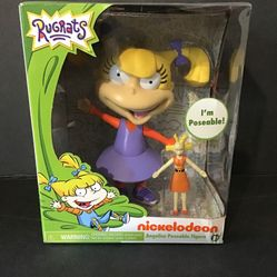 Nickelodeon Just Play - Rugrats Angelica Collectible Figure (Brand New) Thumbnail