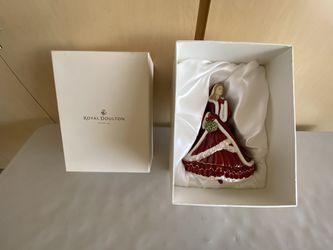 Royal Doulton Christmas 🎄 Doll Thumbnail