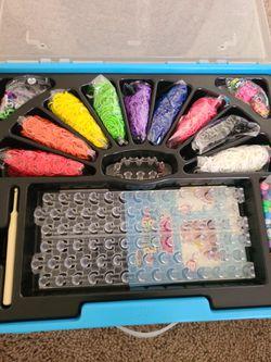 Rainbow Loom Mega Bracelet Creating Set Thumbnail