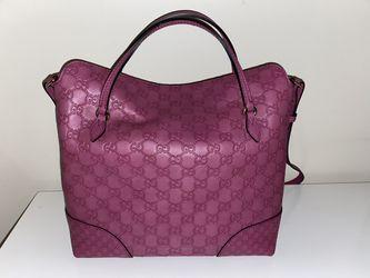 Authentic Gucci Bree Top Handle Convertible Tote Bag Thumbnail