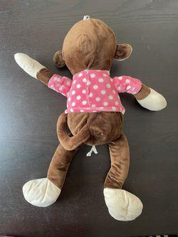 Monkey Plushy/stuffed Animal Thumbnail