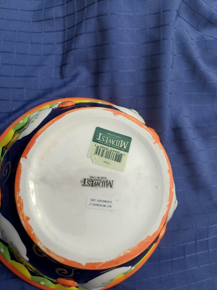 Midwest Cannon Large Halloween Bowl