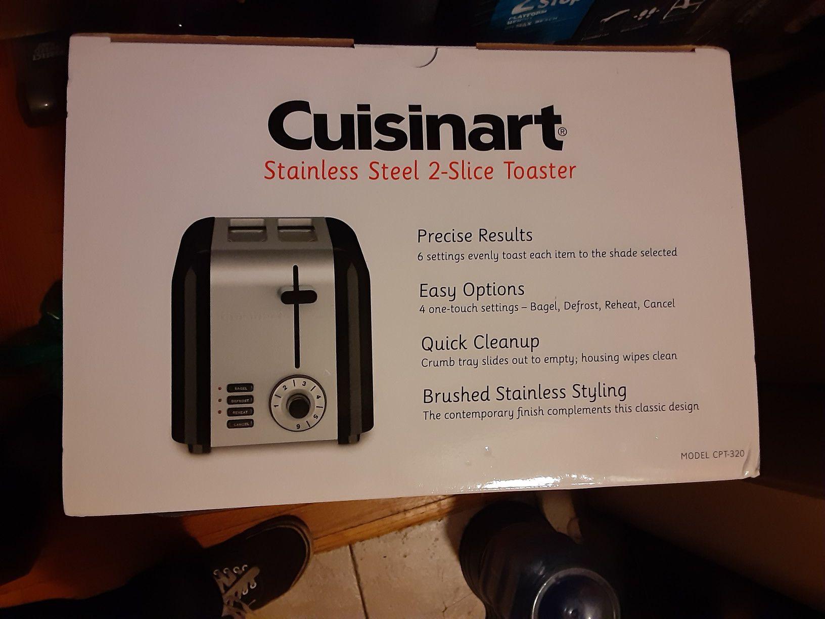 Cuisinart 2 slice toaster