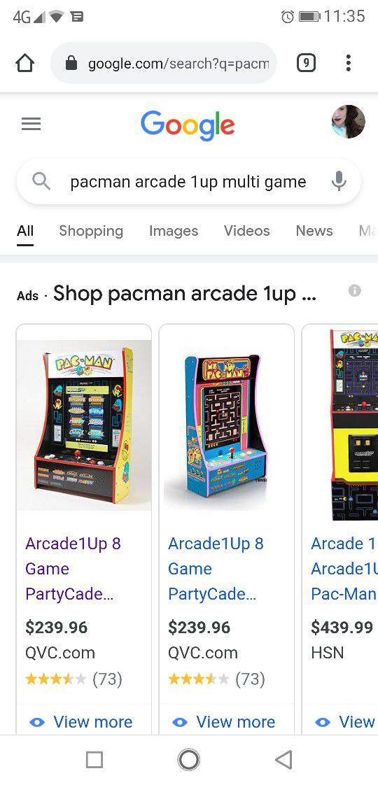 Pacman Arcade Multi Game