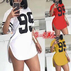 Side Split Summer Shirt Dress (NEW) Thumbnail