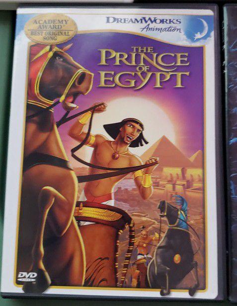 DVD kid movies Antz, Shrek, Ice Age, The Prince of Egypt, Corpse Bride
