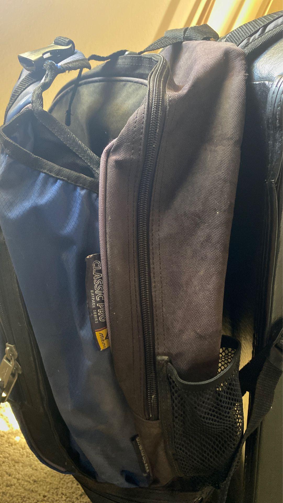 Mizuno baseball backpack