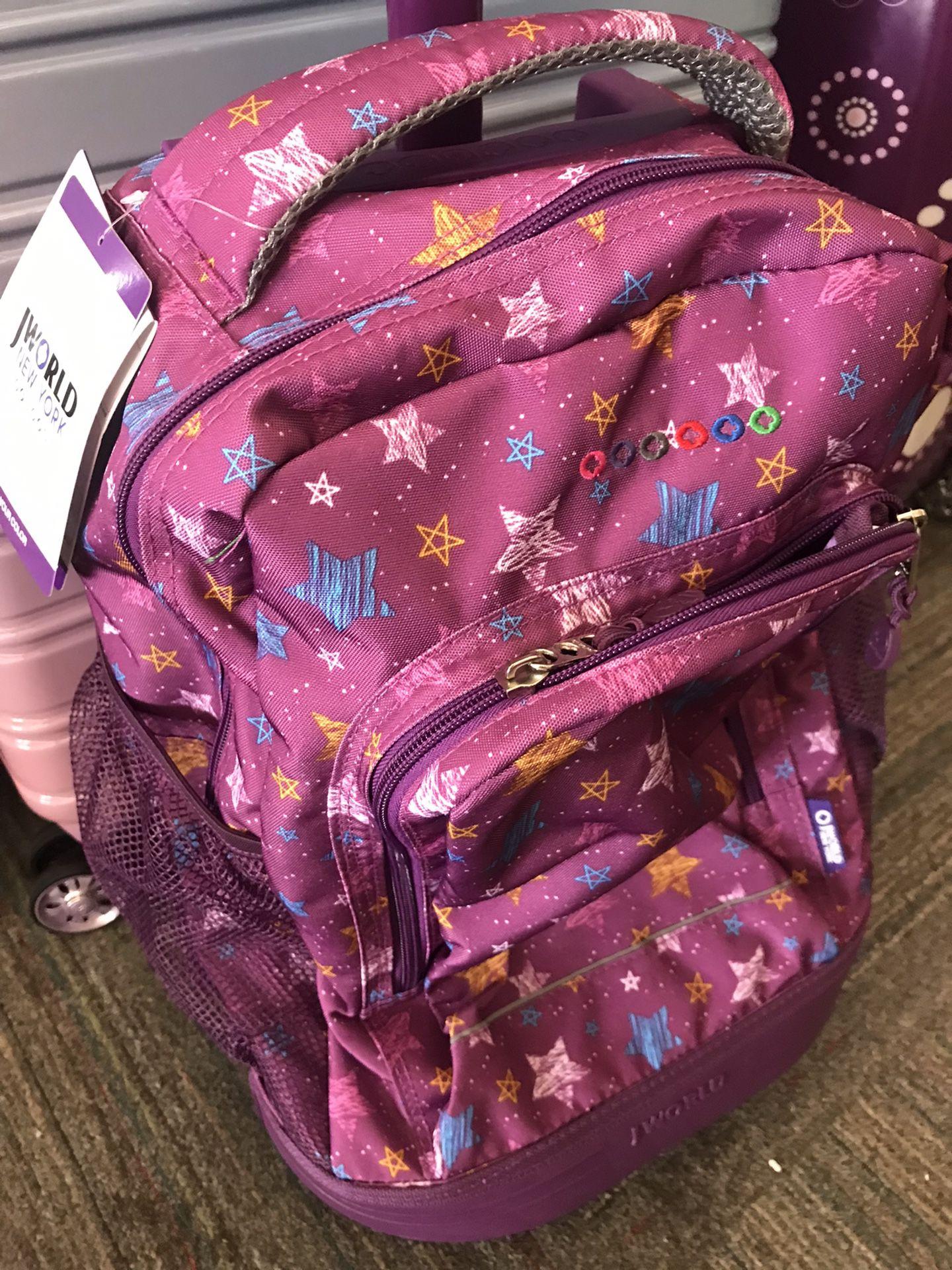 JWorld Sunny Rolling Backpack