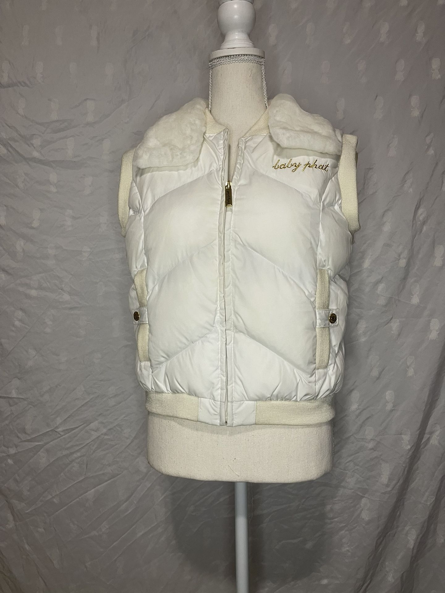 Baby Phat Authentic Puffer Vest Jacket