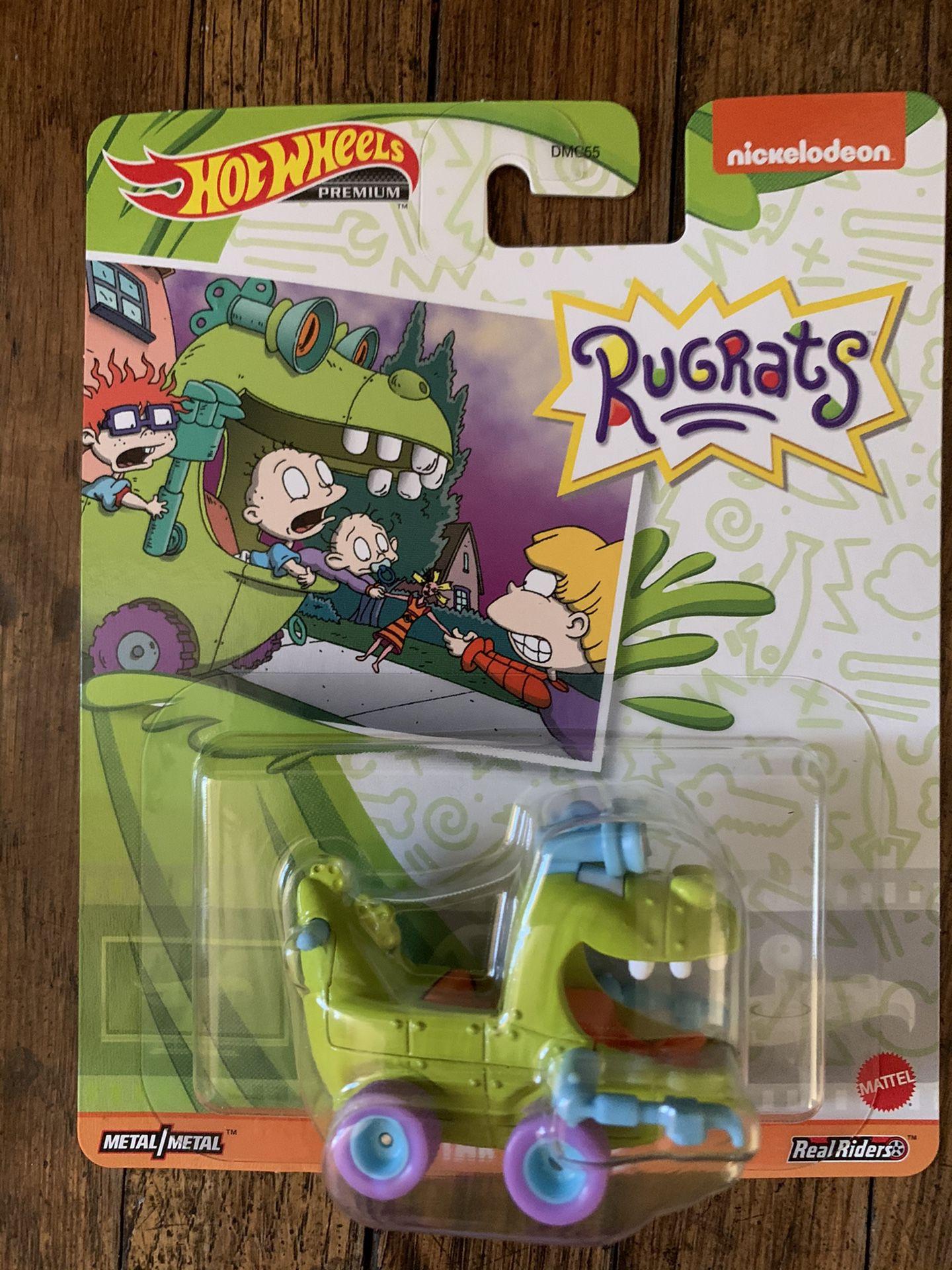 Entire Rugrats Hot Wheels Car With Bonus Reptar Wagon