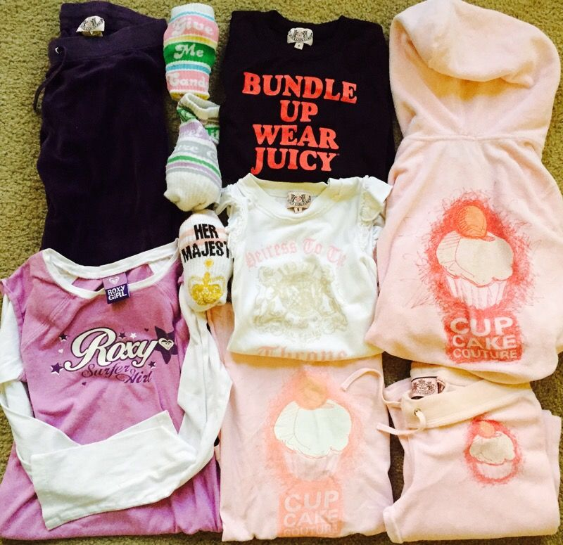 Juicy Couture/ Roxy Girls size 8–10