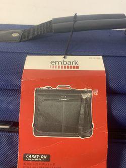 Embark Light Weight Carry-On Garment Bag for Flights Brand New Thumbnail