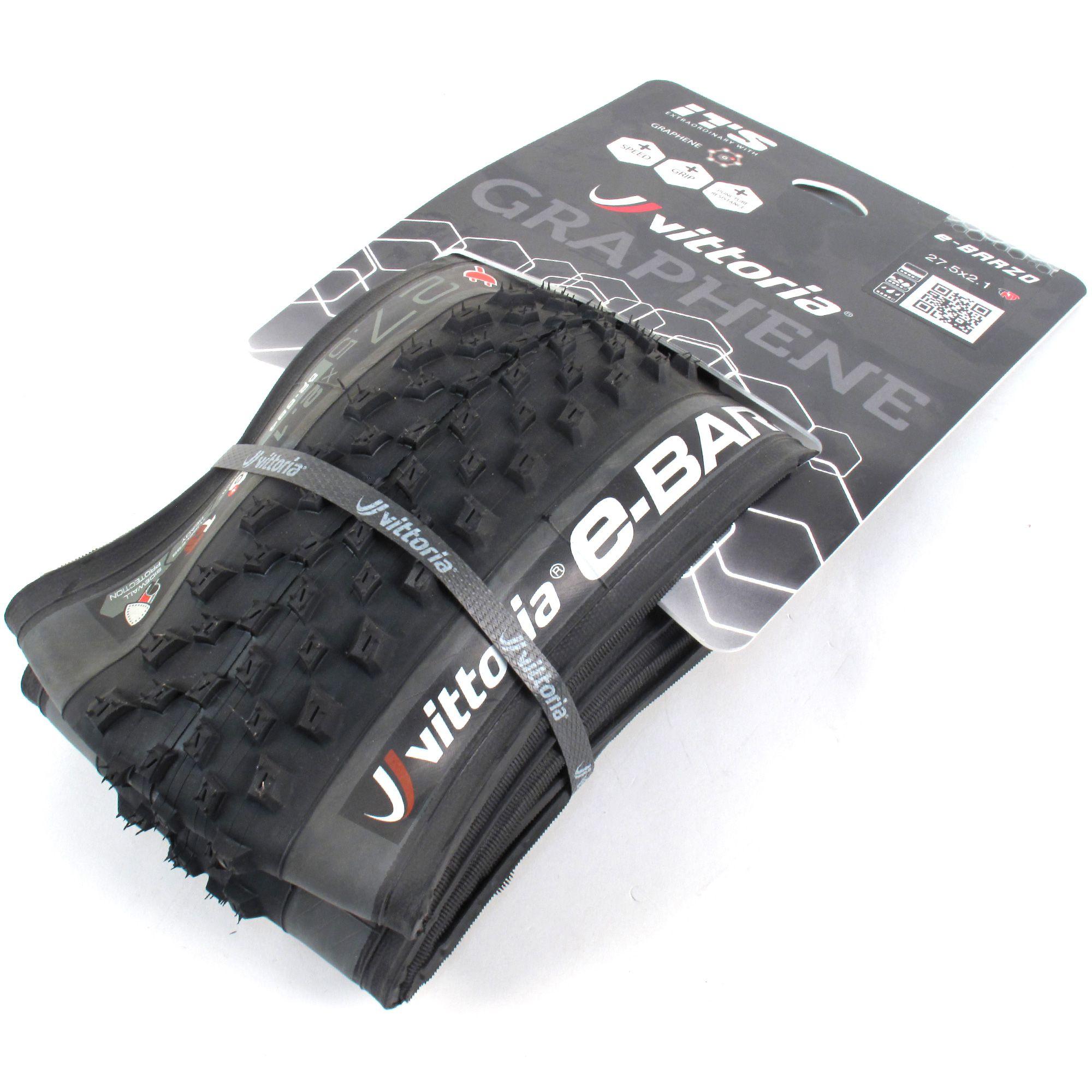 Vittoria E-Barzo G+ TNT 27.5 x 2.1 Cross Country E-Bike Tire // Tubeless Folding