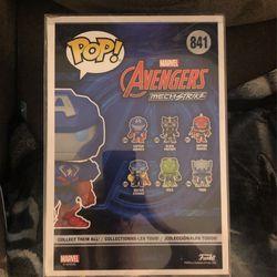 Funko Pop #841 10-inch Captain America Thumbnail