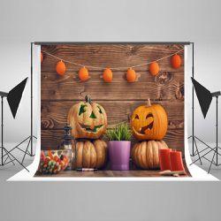 Selfie Backdrop Photography Halloween Photo Booth Backdrop Photo Studio Props 7x5ft Thumbnail