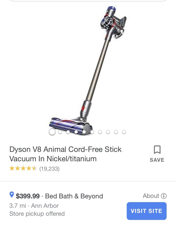 Dyson V8+ Animal Cord Free Stick Vacuum