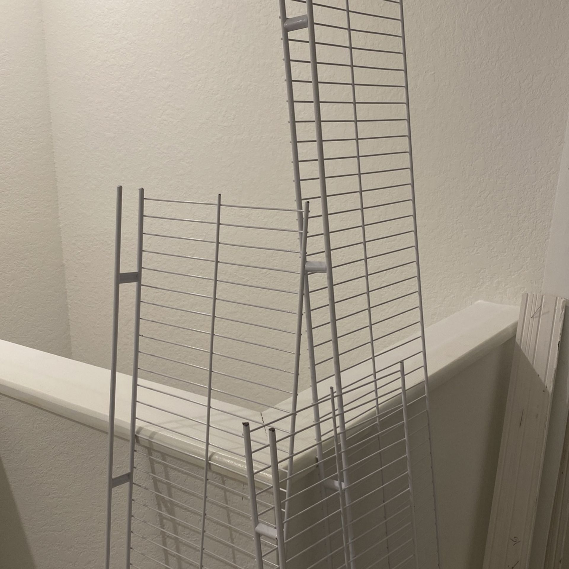 Metal Wire Shelves For Closets Or Garage