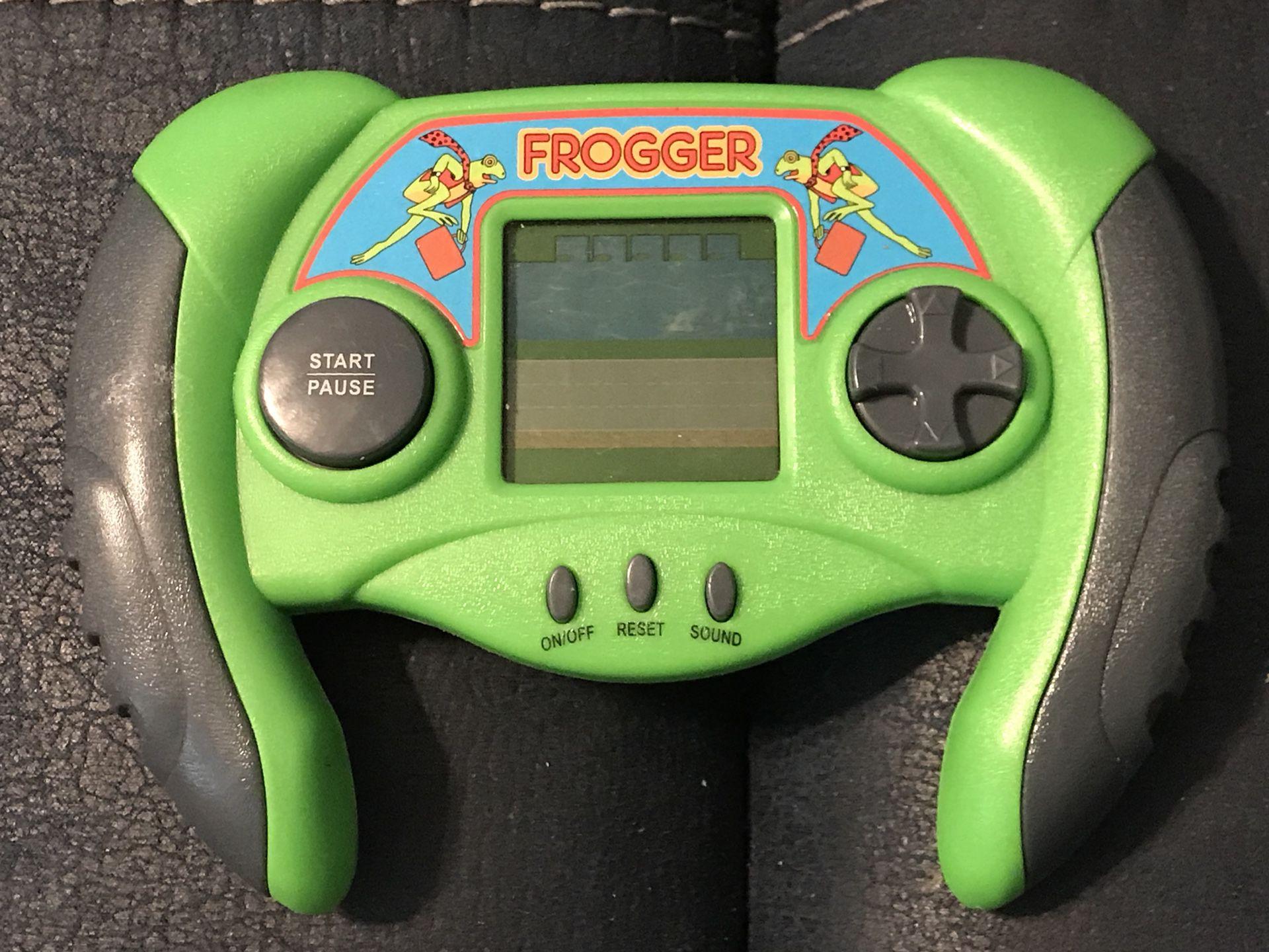 Frogged handheld