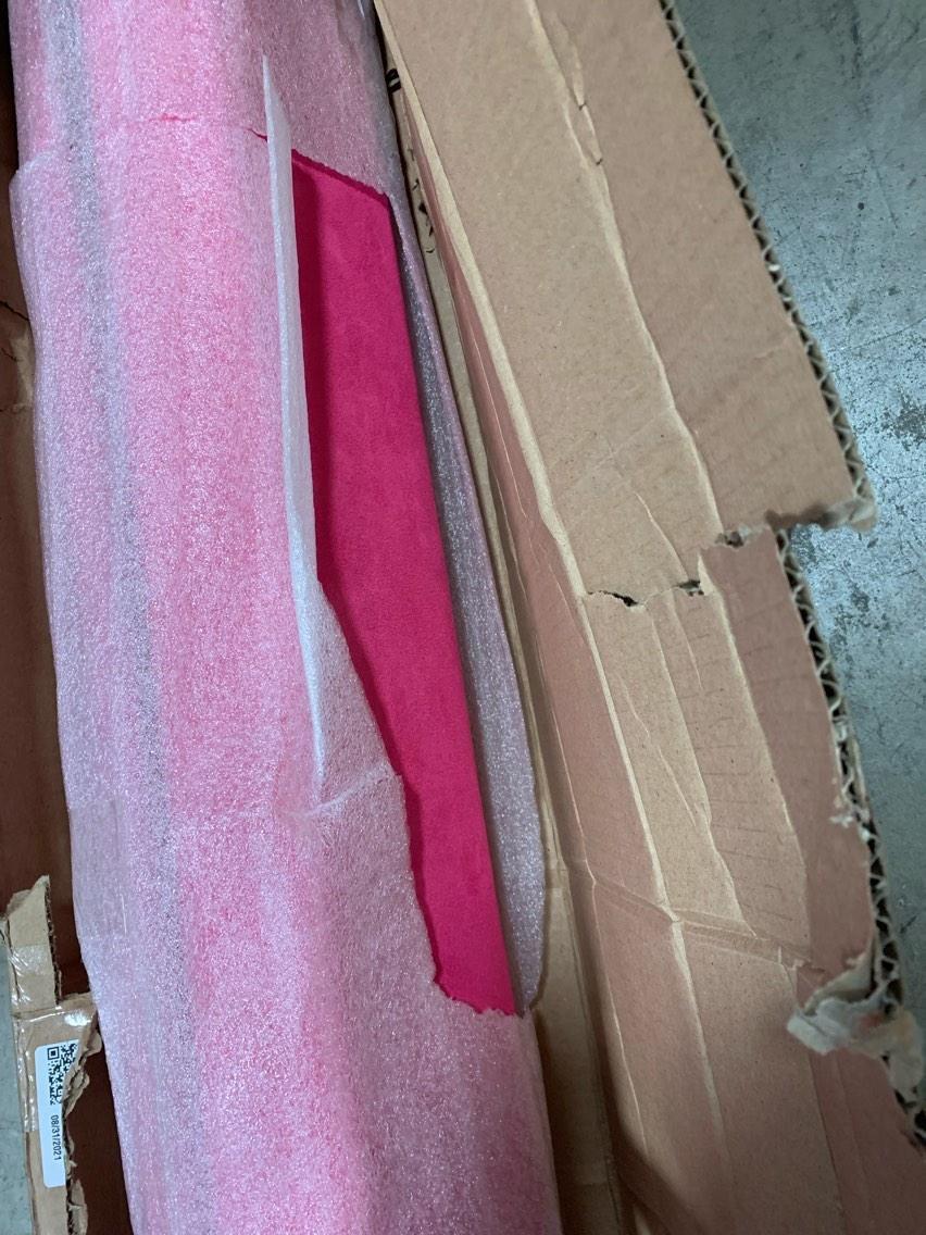 Wood Core Folding Beam Pink