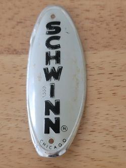 Vintage Schwinn Head Badge Thumbnail