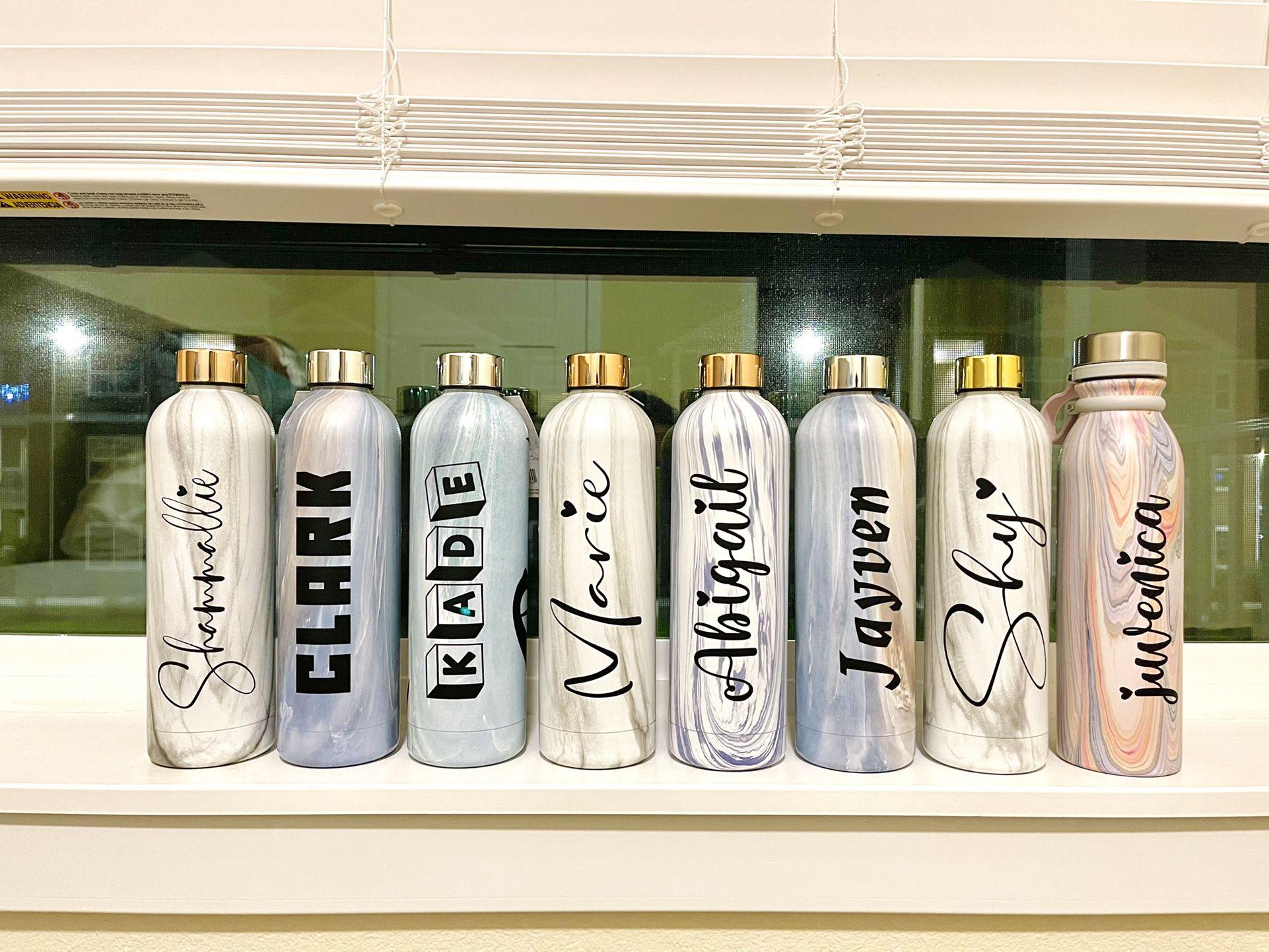 Personalized Water Bottle. 25oz