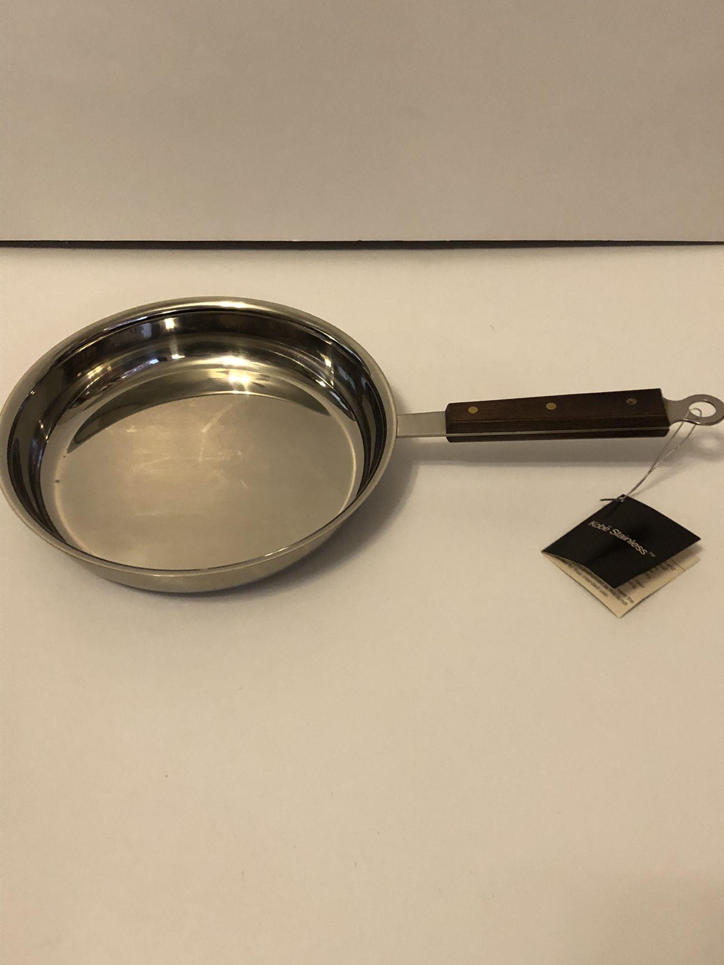 Kobee Stainless Frying Pan