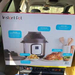 Brand New 11 In 1  Instant Pot Duo Crisp + Air Fryer Thumbnail