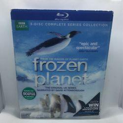 BBC Earth Frozen Planet Blu-ray Set New  Thumbnail