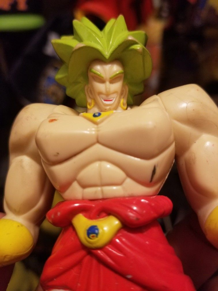 BROLY DRAGONBALL Z ACTION FIGURE 1989