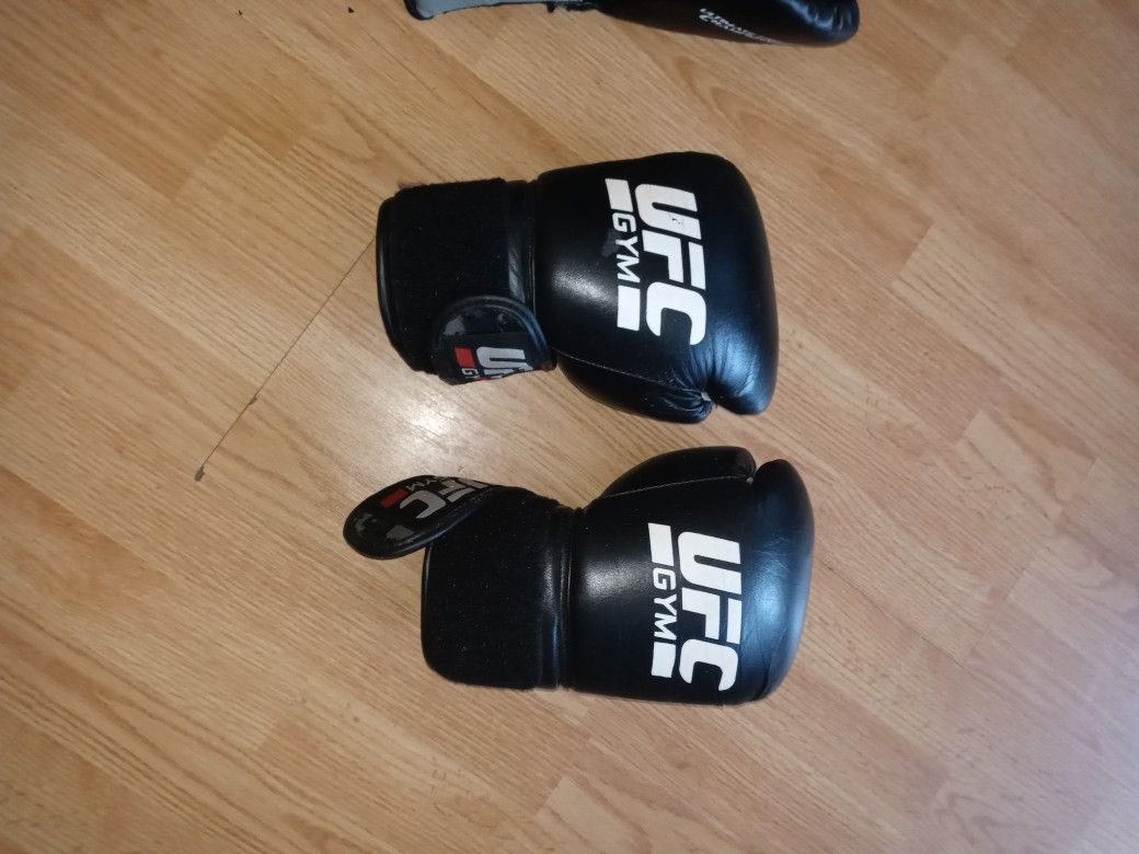 2 Pairs Of UFC Gloves