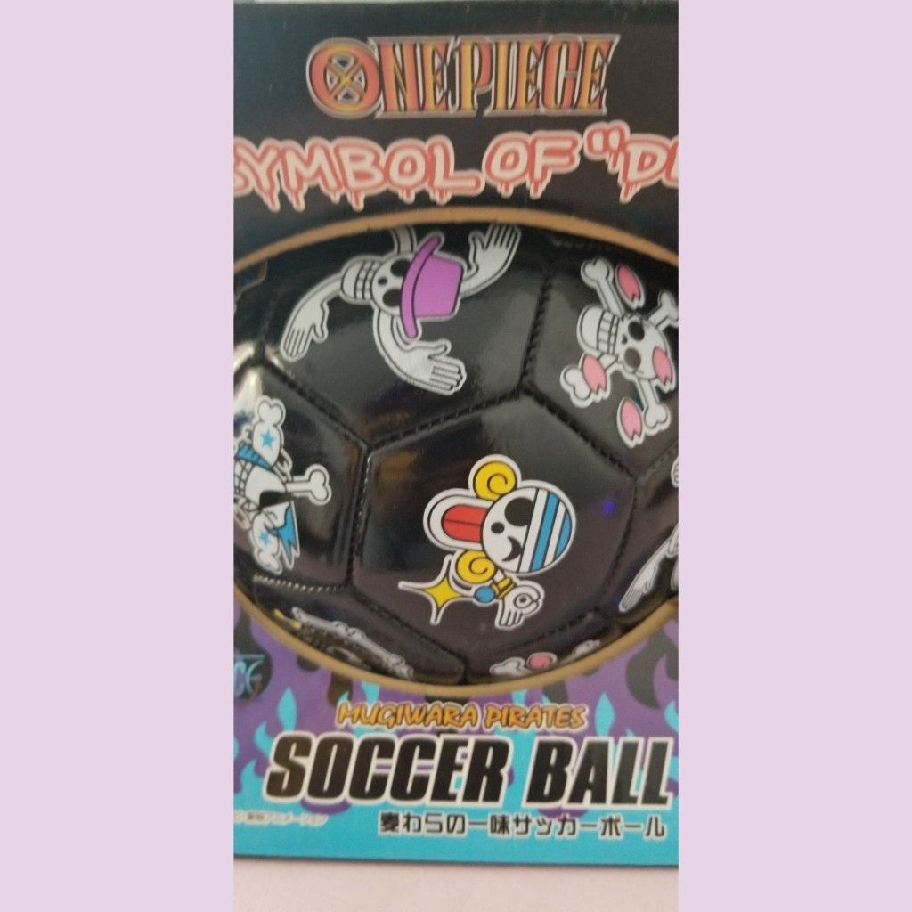 One piece anime soccer ball