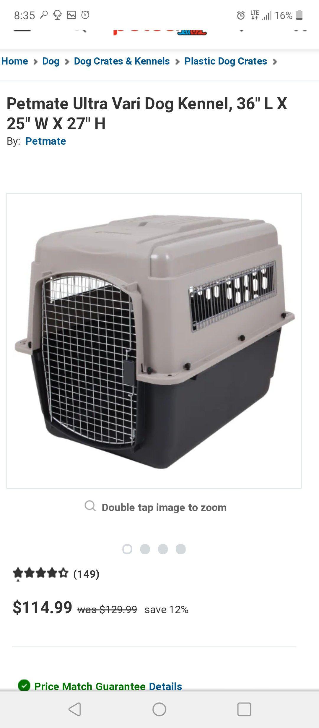 """Ultra Vari 36"""" dog kennel Large"""