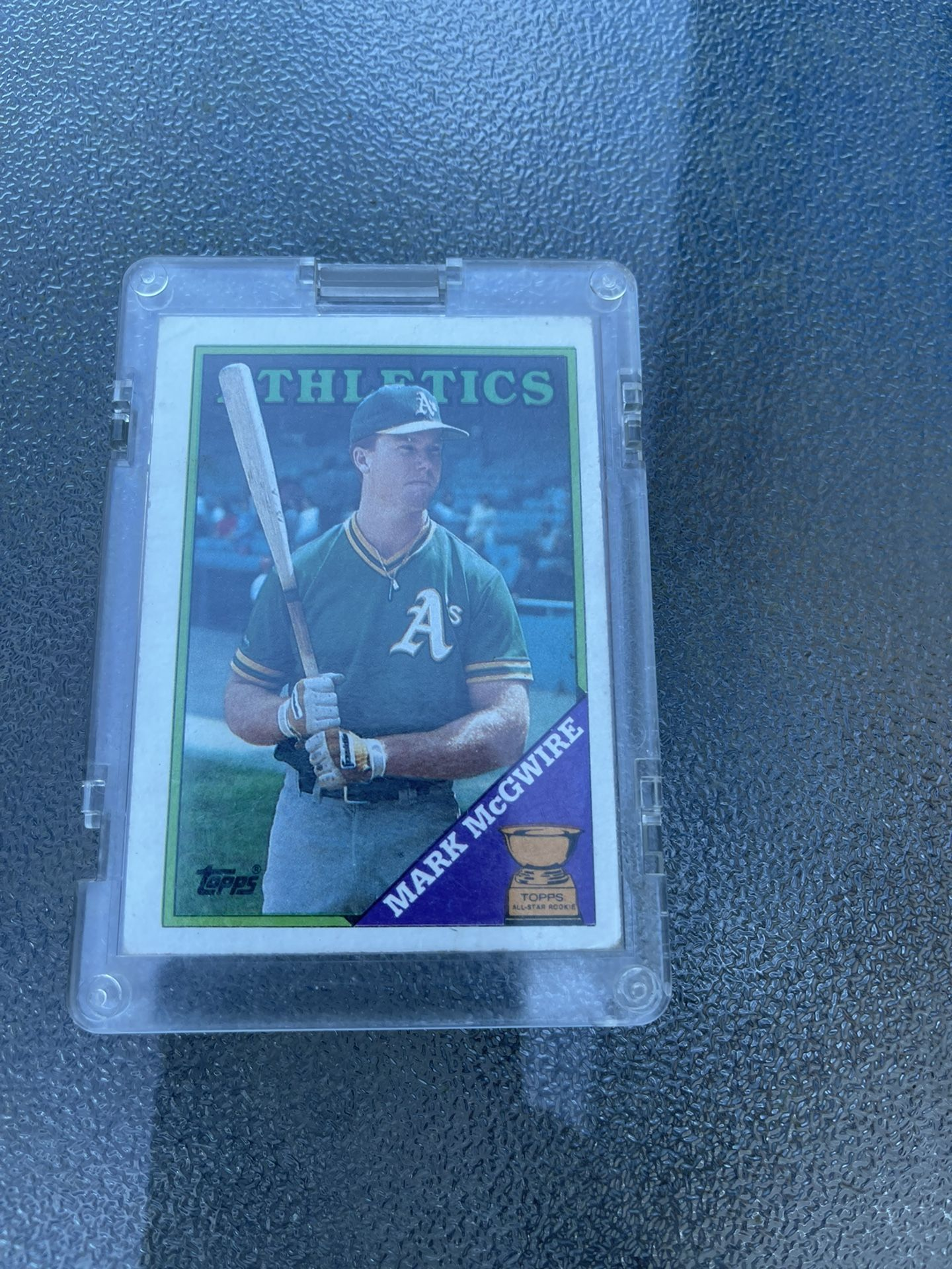Topps Mark McGuire Rated Rookie Card