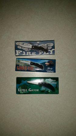 Firefly, eagle eye, little gator Thumbnail