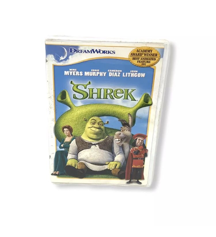 Dreamworks Shrek DVD Cover Sleeve (Disc Not Included)