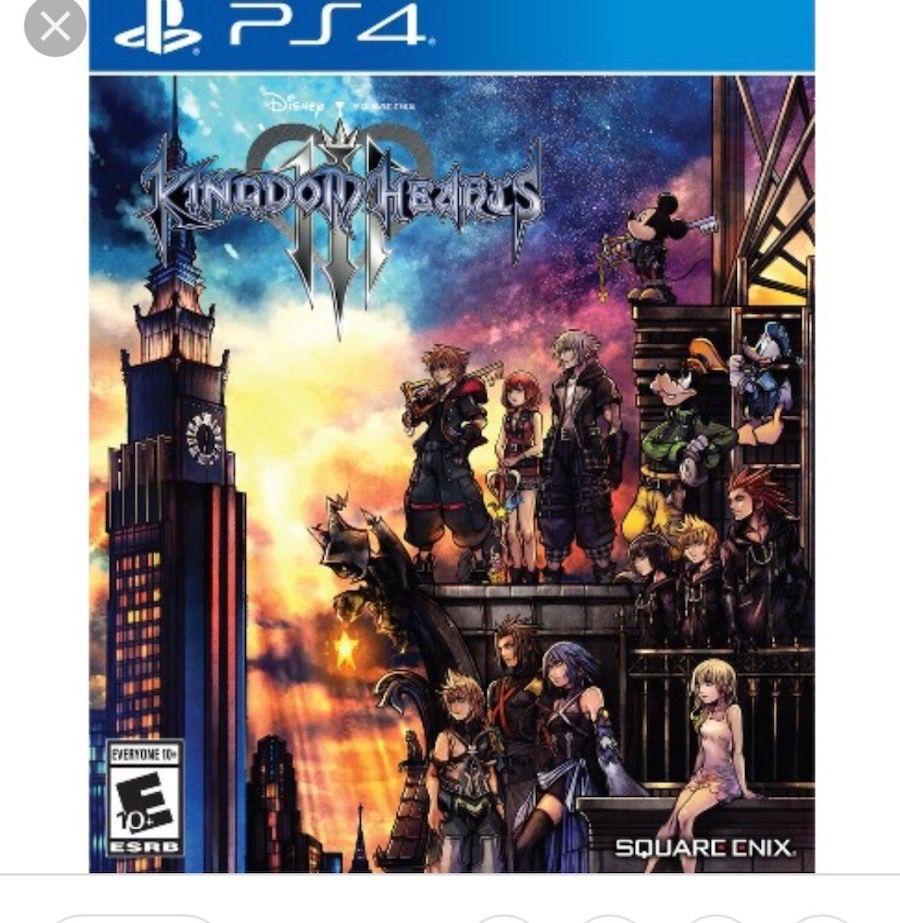 Ps4 game Kingdom hearts