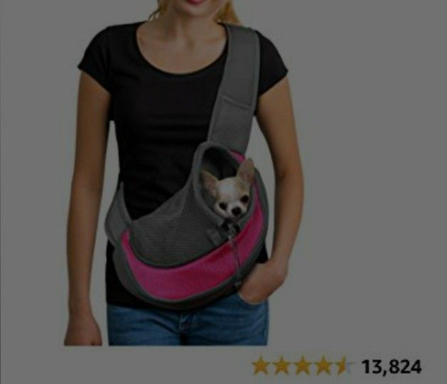 Sling Bag Carrier for Dogs Cats - small size