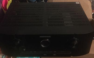 Gershwood Acoustics 5.1 HDTV 2000 watt surround sound system with Marantz Amp Receiver Negotiable Thumbnail