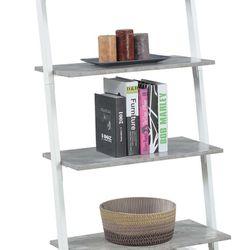 Graystone 4 Tier Ladder Bookcase/shelf, White Thumbnail