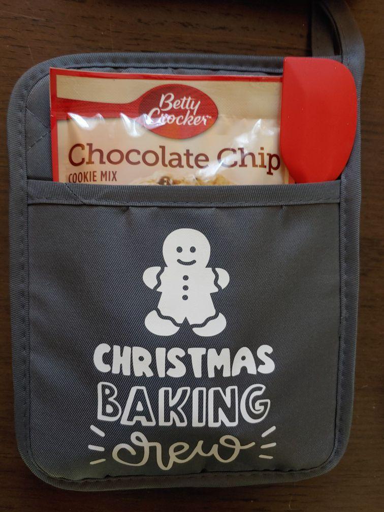 Custom Christmas pot holders