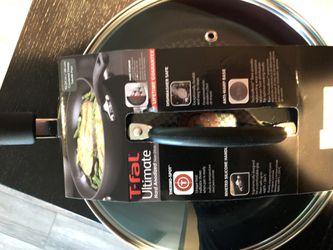 T-fal 10inch Deep Sauté/Frying Pan - BRAND NEW Thumbnail