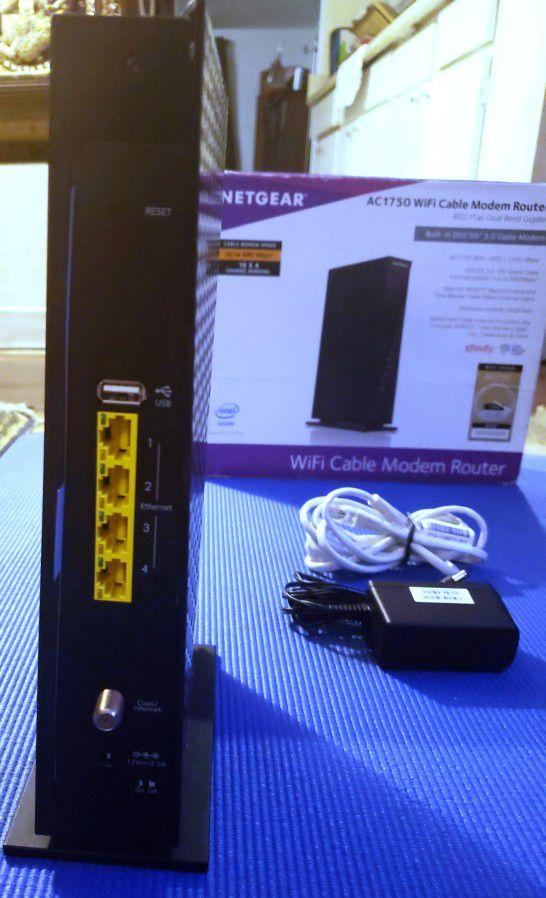 Netgear WiFi Cable Modem Router
