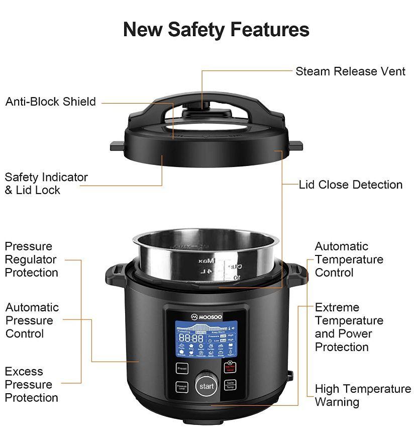 12-in-1 Electric Pressure Cooker