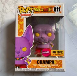 Pop! Animation: Dragon Ball Z Champa (Flocked) Hot Topic Exclusive Thumbnail